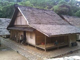 Provinsi Banten Rumah Adat Baduy