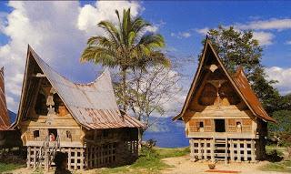 Provinsi Sumatera Utara Rumah Adat Bolon