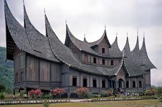 Provinsi Sumatera Barat Rumah Adat Gadang