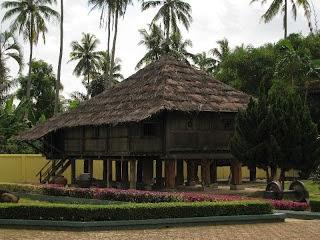 Provinsi Lampung Rumah Adat Nowou Sesat
