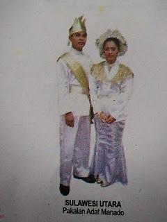 Pakaian Tradisional Sulawesi Utara