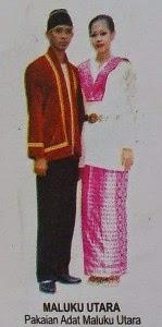 Pakaian Tradisional Maluku Utara