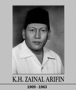 Pahlawan Nasional K.H. Zainul Arifin