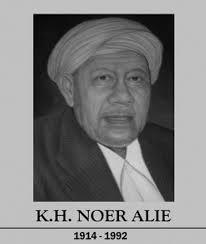 Pahlawan Nasional Kiai Haji Noer Alie