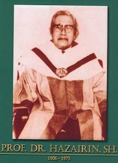 Pahlawan Nasional Prof. Dr. Hazairin