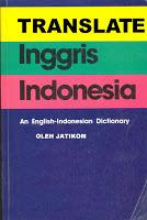 Translate Bahasa Indonesia Inggris