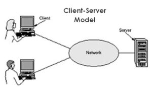 Jaringan Berdasarkan Peranan dan Hubungan Tiap Komputer dalam Memproses Data