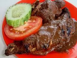 Makanan Khas Daerah Sumatera Utara Ayam pinadar