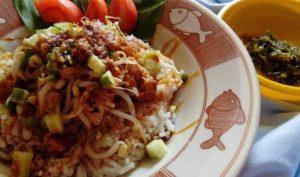 Makanan Khas Daerah Sunda Jawa Barat NASI LENGKO