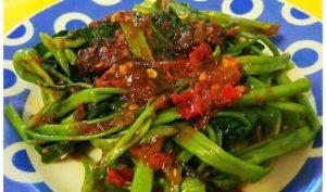 Makanan Khas Daerah Sunda Jawa Barat RUJAK KANGKUNG