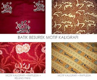 34 Provinsi Motif Batik Indonesia Gambar  Keterangan
