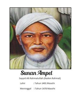 Walisongo Sunan Ampel (Raden Rahmat)