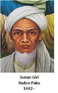 Walisongo Sunan Giri (Raden Paku / Muhammad Ainul Yakin)