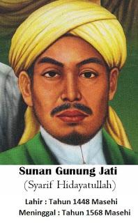Walisongo Sunan Gunung Jati (Syarif Hidayatullah)