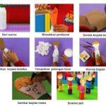 Kerajinan Tangan Boneka dari Botol Bekas