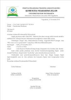 10 Contoh Surat Permohonan Danasponsorkerjasama Dll