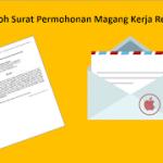 Contoh Surat Permohonan Magang Kerja Resmi