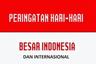 Hari Besar Nasional dan Internasional