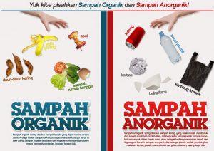 Pengertian sampah anorganik dan organik serta Contoh