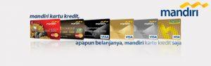 Macam Macam Kartu Kredit Mandiri dan Cara Pengajuan Online