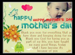 Contoh Greeting Card untuk Hari Ibu (Mother's Day)