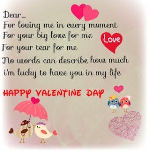 Contoh Greeting Card untuk Hari Valentine