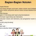 7 contoh notulen rapat,Diskusi,Pensi,Fungsi,Pengertian Notulen