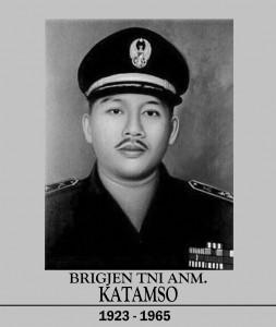 Pahlawan Revolusi Brigadir Jenderal Katamso Darmokusumo