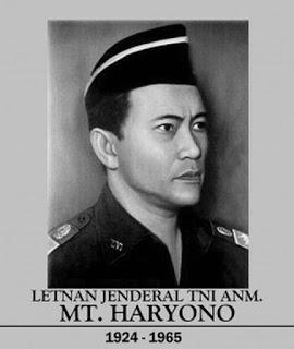 Pahlawan Revolusi Letnan Jenderal Haryono