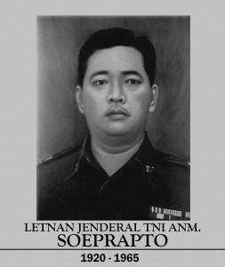 Pahlawan Revolusi Letnan Jenderal R. Suprapto
