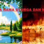 Pengertian, Nama-Nama Surga dan Neraka, Dalil