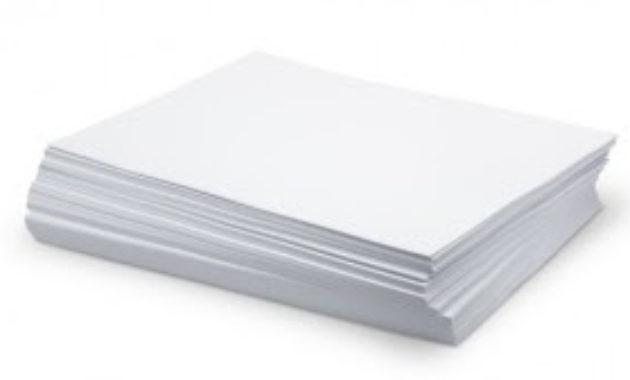 Kertas yang digunakan untuk mencetak terlalu banyak