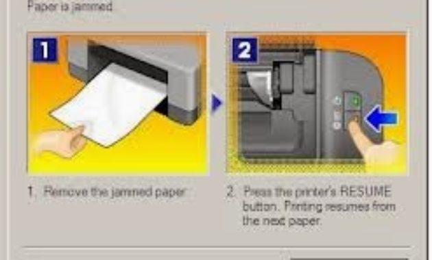 Printer mengalami paper jam