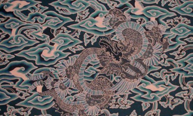 34 Provinsi Motif Batik Indonesia Gambar Dan Keterangan