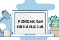Cara melihat IP komputer Laptop Smartphone