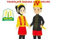 translate bahasa aceh